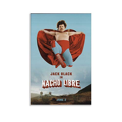 Nacho Libre 2006 Original Movie Poster Poster Decorative Painting Canvas Wall Art Living Room Posters Bedroom Painting 12x18inch(30x45cm)