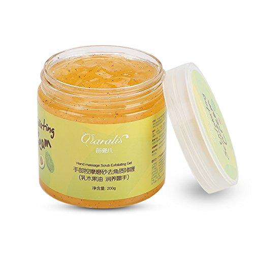 Hand Scrub Fußmassage Peeling-Creme Hautpflege Dead Skin Schwielen Feuchtigkeitsspendende Whitening Nourishing Beauty SPA, Sheabutter
