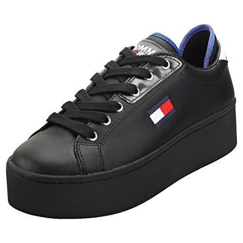 Tommy Hilfiger Damen Roxie 21a Sneaker, Schwarz (Black Bds), 38 EU