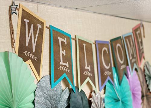 Home Sweet Classroom Pennants Welcome Bulletin Board Photo #3