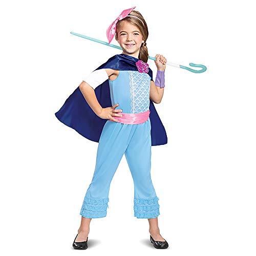 OBEEII Toy Story 4 Bo Peep Disfraz para Nias Carnaval Cumpleaos Cosplay Costume 10-12 Aos