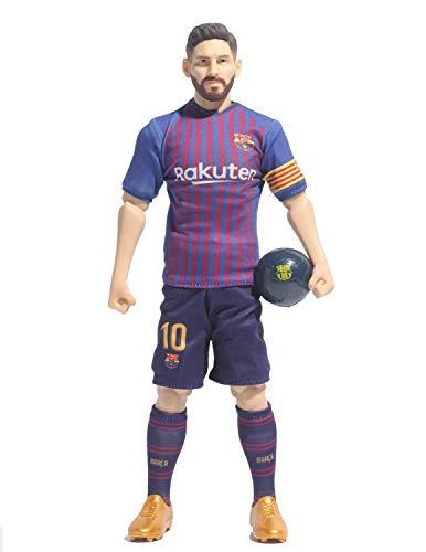Sockers BanboToys 2 - Figura FCB de Messi 2018/19, Azulgrana, 30 cm