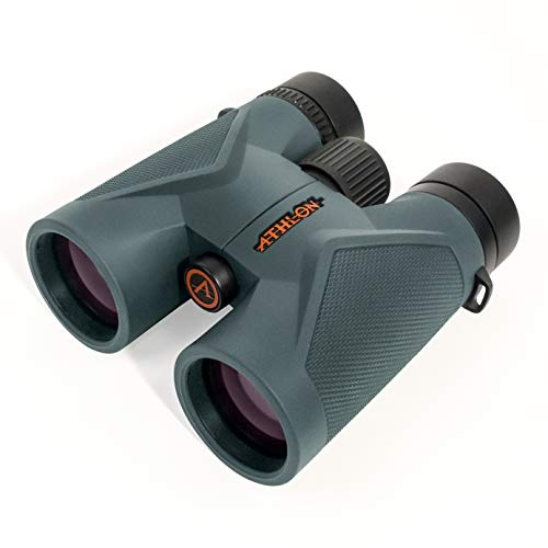 Athlon Optics Midas 8x42 ED Binoculars for Adults and Kids, Waterproof, Durable...