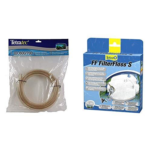 Tetra EX 400/600/700 Schlauch (Zubehör für EX Außenfilter) & FF FilterFloss S - Feinfiltervlies EX Außenfilter