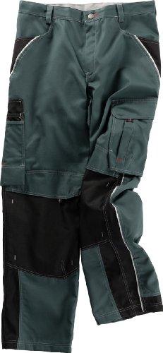 Beb Bund-Hose Arbeits-Hose INFLAME - spruce green/schwarz - Größe: 64
