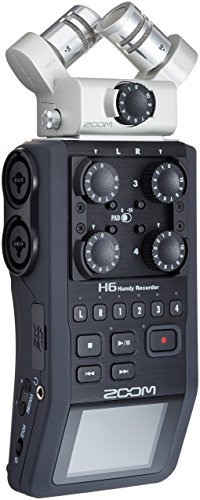 Zoom H6 Six-Track Portable Recorder (Renewed)