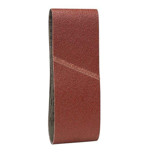 Bande Abrasive X440 pour Ponceuses, 150 Grain, 610mm x 100mm, Lot de 3