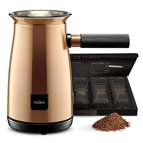 Hotel Chocolat Velvetiser Hot Chocolate Machine, Copper