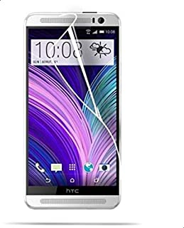 واقي شاشة LCD كريستالي لامع شفاف HD ضد الخدش لهواتف اتش تي سي ون M8