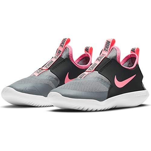 Nike Flex Runner (PS), Zapatillas para Correr Unisex niños, Smoke Grey Sunset Pulse Black White, 32 EU