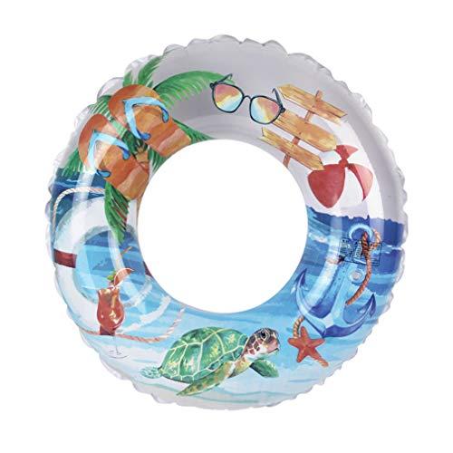 TIM-LI Spielzeug Schwimmring - Aufblasbarer Wasserschwimmer Pool Tube Schwimmtrainer, Summer Party Beach Lounges Für Erwachsene,A