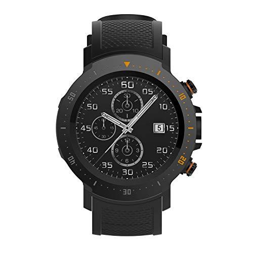 4G LTE Smartwatch, Smartwatch mit MTK 6739 Quad Core 1 GB + 16 GB, SIM-Karte, 1,39-Zoll-AMOLED-Bildschirm, Bluetooth, HR-GPS, 5-Megapixel-Kamera und Pulsmesser,1PCS