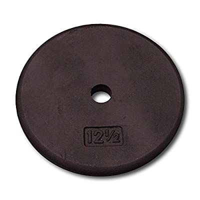 Body Solid Standard Black Iron Weight Plates