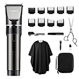 Best Mens Hair Clippers - WONER Hair Clippers for Men, 17-Piece Home Hair Review