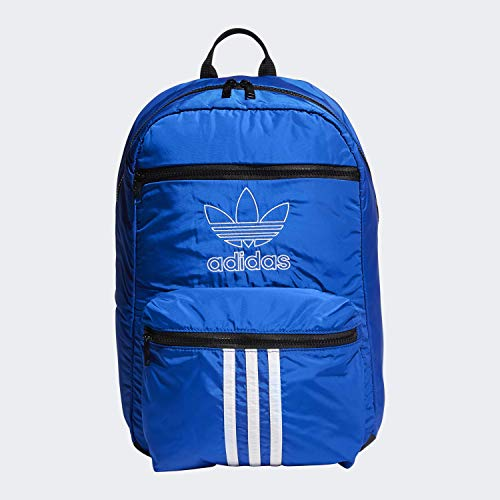 adidas Originals Unisex National 3-Stripes Backpack, Collegiate Royal, ONE SIZE