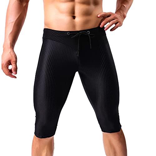 Arjen Kroos Short de Compression pour Homme, Legging Homme Sport Pantalon Running Collant Court de Sport Cool Dry Base Layer Homme Caleçon de Fitness