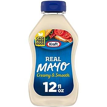 Kraft Mayo Real Mayonnaise  12 oz Bottle