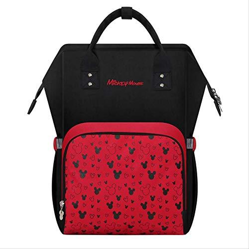 Disney Mickey Mouse Style Mommy Bag Rucksack Baby Windeln Kinderwagen Wickeltasche
