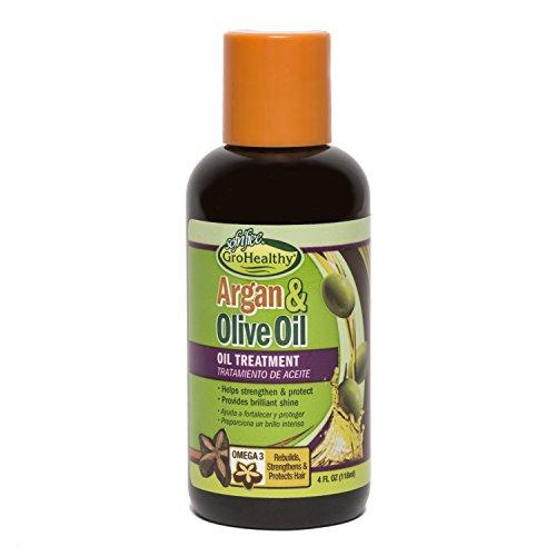 Sofn'free GroHealthy Argan & Olive Oil Treatment 4oz