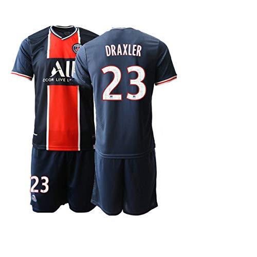 JEEG 20/21 Herren DRAXLER 23# Fußball Trikot Fans Jersey Trainings Trikots (L)