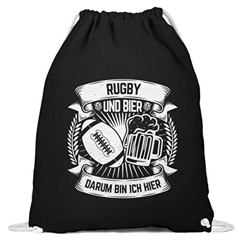Chorchester Idéal pour les fans de rugby et de bière – Coton Gymsac - Noir - Noir, 37cm-46cm