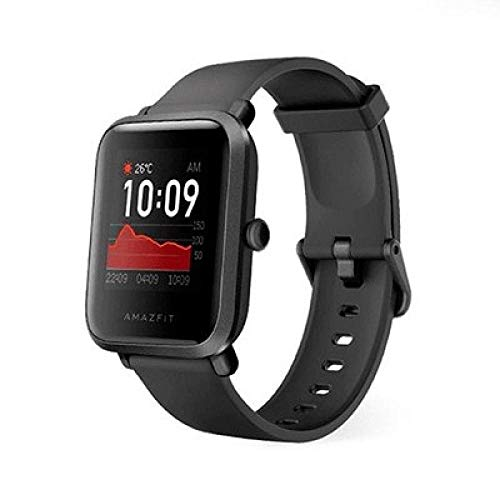 Amazfit Bip S Smartwatch 5ATM GPS GLONASS Inteligente Reloj Bluetooth Bip 2 para Android y iOS Version Global (Negro), 4+64GB miniatura
