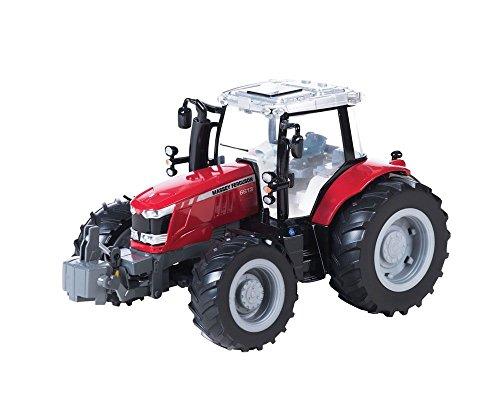 TOMY - 43078a1 - Véhicule Miniature - Modèle À L'échelle - Tracteur Massey Ferguson 6613 - Echelle 1/16