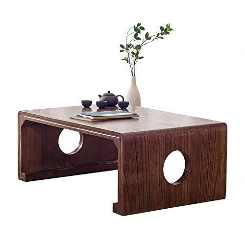 PAKUES-QO Mesa De Centro Mesa Auxiliar Jpansese Style Side End Accent Table Mesa De Centro Muebles Modernos Mantenga El Espacio Ordenado (Color: A, Tamaño: 80X50X30Cm)