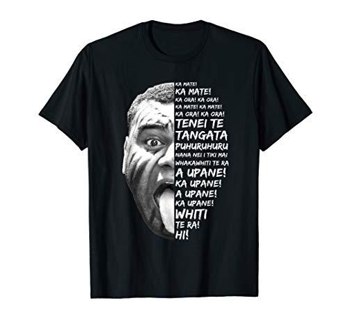 Haka Neuseeland Maori Geschenk New Zealand Fans als Rugby T-Shirt