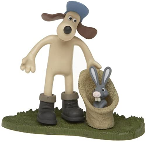 McFarlane Toys Wallace and Gromit Action Figure Gromit with Bunny by McFarlane