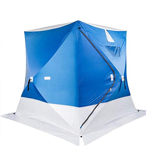 Outdoor Waterproof Tent, Cool Wind For Quick Set Up Tent Camping Hiking And Fishing Suitable for Camping (Color, Blue, Size, 200X200X205cm),For Beach Camping Hiking Fishing,Blue for Beach Camping H