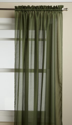 LORRAINE HOME FASHIONS Reverie 60-inch x 84-inch Tailored Panel, Green
