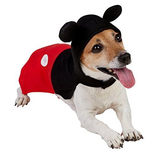Rubie's- Costumi per Cani per Adulti, Nero/Rosso, xs, IT580206-XS