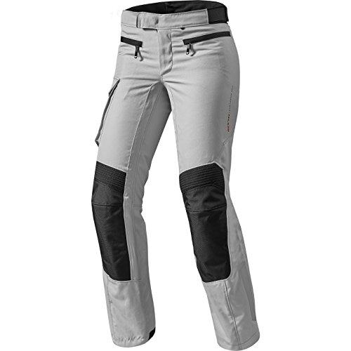 FPT075 - 0173-L42 - Rev It Enterprise 2 Ladies Motorcycle Trousers 42 Silver Long