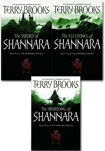 The Shannara Chronicles Series Terry Brooks 3 Books Collection Set (The Sword Of Shannara, The Elfstones Of Shannara, The Wishsong Of Shannara)