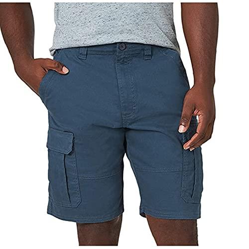 2021 Nuevo Pantalones cortos Hombre Verano Casual Moda Deporte Running Pants Jogging Talla grande Original Elástico Color sólido Cortos Pantalon Fitness Gym Suelto Ropa de hombre playa shorts