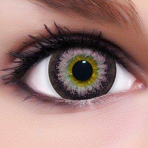 Circle Lenses pinke Babe Pink ohne und mit Stärke + Behälter I 15mm I weich I 3 Monate anwendbar I Ohne und Mit Stärke