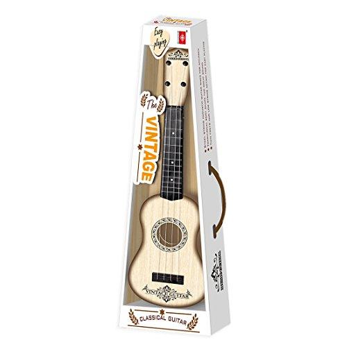 VenGo 4 Cuerdas Instrumento Musical Juguete Ukelele Pequeña Guitarra para Niños Educación Temprana