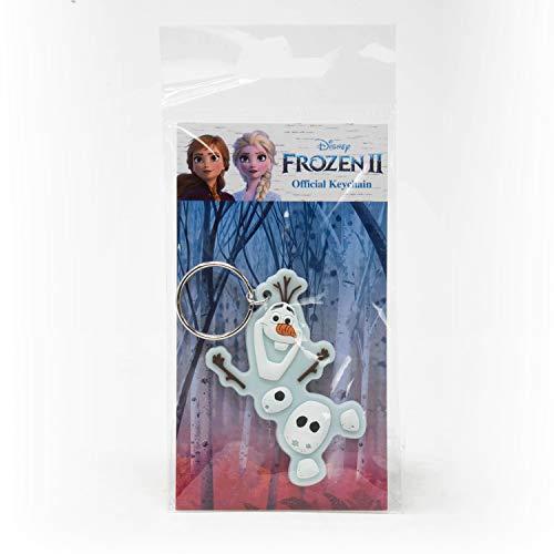 Disney Schlüsselanhänger aus Gummi, mehrfarbig, 15,5 x 7,5 x 0,5 cm