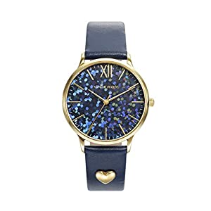 Reloj Viceroy Kiss 461094-99 Mujer IP Dorado Correa Piel