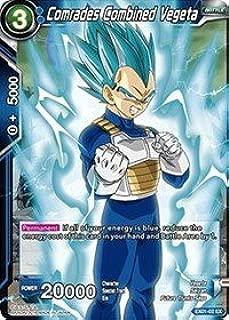 Dragon Ball Super TCG - Comrades Combined Vegeta (Foil) - EX01-02 - EX - Expansion Deck Box Set 01 - Mighty Heroes