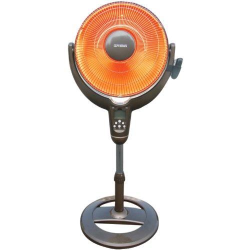optimus oscillating space heater - 2