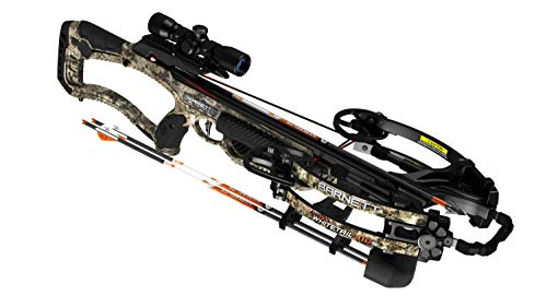 Barnett Archery Hyper Whitetail 410 Ready to Hunt Crossbow Package | Shoots 410 Feet Per Second, Multi, one Size (BAR78166)