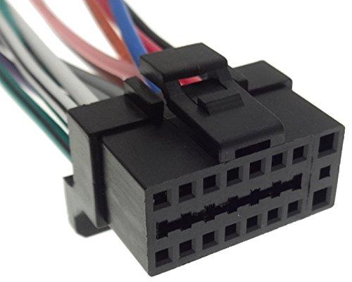 Cable adaptador de radio de coche con conector DIN ISO para cable de conexión compatible con Sony versión 7