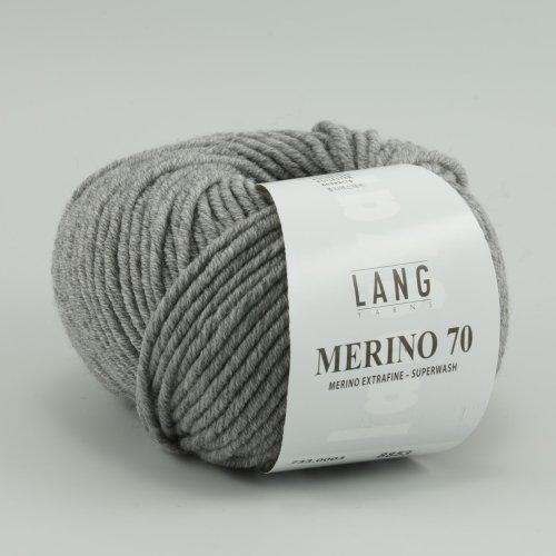 Lang Yarns Merino 70 - 0003 hellgrau