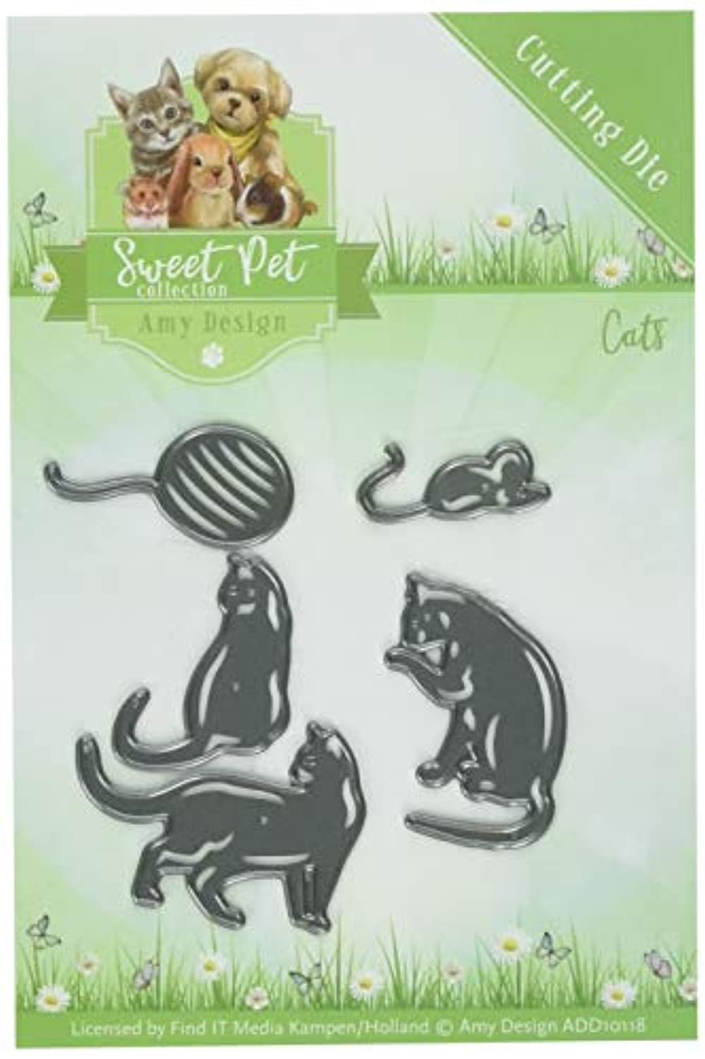 Find It Trading Cats Amy Design Sweet Pet Die