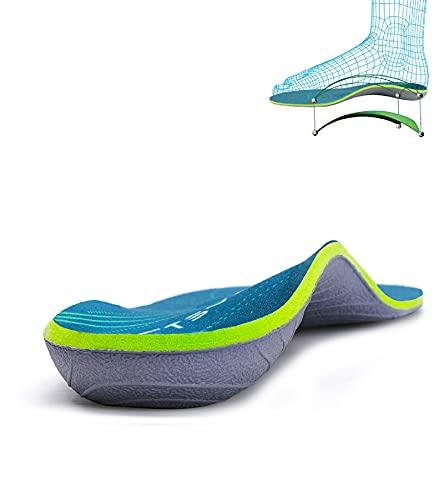 Plantar Fasciitis Medium Arch Support Orthopedic Insoles Flat Feet Heel Pain Shock Absorption Comfortable Insoles