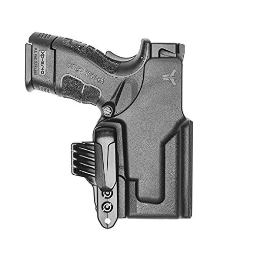 Blade-Tech Ultimate Klipt Holster - IWB Ambidextrous Holster for 1911, Glock, H&K, Sig, Springfield, S&W and STI (Glock / 19/23/32/44 Gen 1-5)