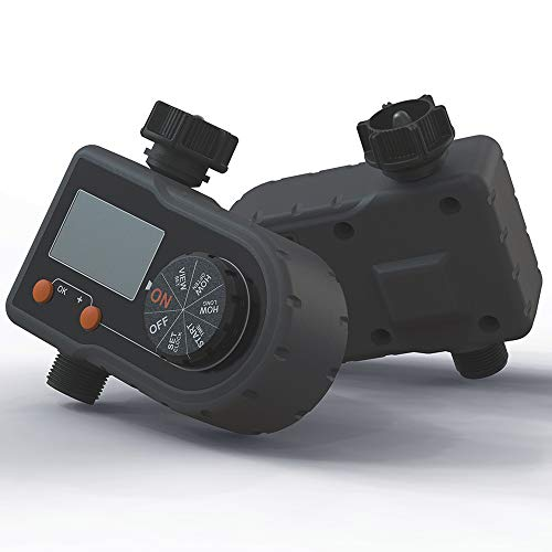 Hose Watering Timer, Irrigation System Water Controller, Digital Garden Timer Automatic Watering Device