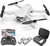4DRC F8 GPS Drone with 4K Camera for Adults, Brushless Motor 5G WiFi Transmission FPV Live Video Drone, RC Quadcopter with Auto Return Home, Follow Me, Waypoints, Circle Fly, Carrying Case